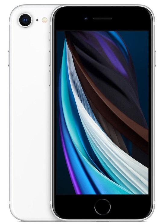 Mobilais telefons Apple iPhone SE, balta/daudzkrāsains, 3GB/64GB