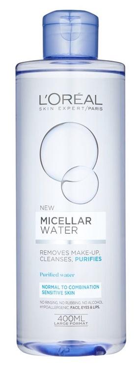 Kosmētikas noņemšanas līdzeklis L´Oreal Paris Fresh Micellar Water, 400 ml