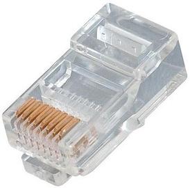 4World RJ45 Plug UTP Cat 5e 100pcs