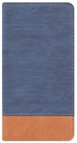 Mocco Smart Retro Book Case For Huawei P9 Lite Mini Blue/Brown