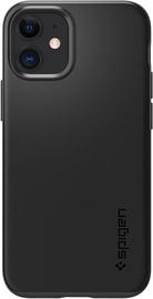 Spigen Thin Fit Back Case For Apple iPhone 12 Mini Black