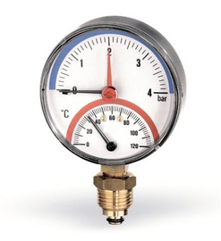 Termomanometrs Watts Thermomanometer 1/2 6B