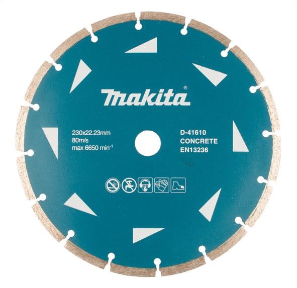 Пильный диск Makita D-41610 Diamond Cutting Disc 230x22.23mm