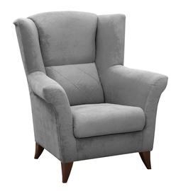 Atzveltnes krēsls Idzczak Meble Kent Grey, 94x75x105 cm