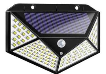 JB Luxx Solar Interaction Wall Lamp