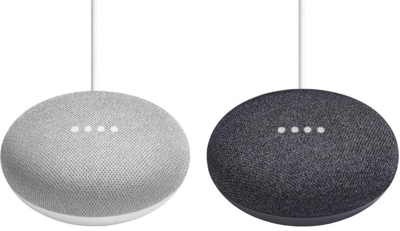 Bezvadu skaļrunis Google Home Mini, melna