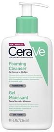 Очищающее средство для лица Cerave Foaming Facial Cleanser, 236 мл