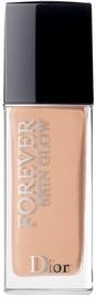 Tonizējošais krēms Christian Dior Diorskin Forever Skin Glow Warm Peach, 30 ml