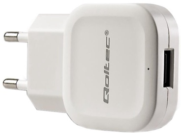 Qoltec USB Wall Charger White