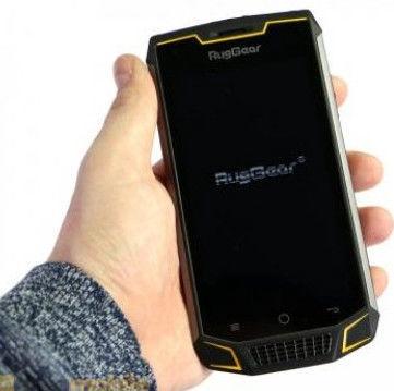 Mobilais telefons RugGear RG740, melna, 3GB/16GB