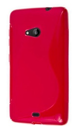 Telone Back Case S-Case for Microsoft Lumia 535 Pink