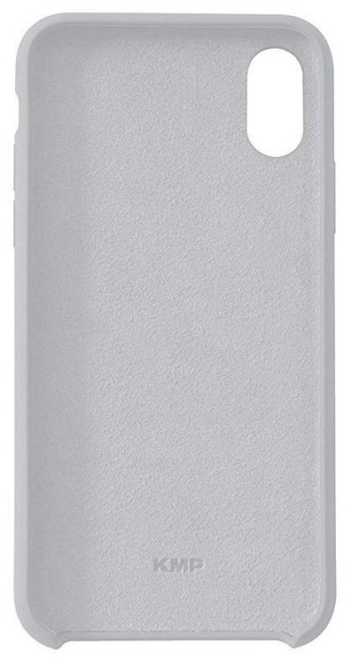 KMP Protective Silicone Case For Apple iPhone X Grey