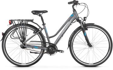 "Kross Trans 6.0 L 28"" Graphite Blue Silver Matte 20"