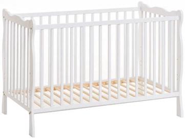 Bērnu gulta ASM Ala II White
