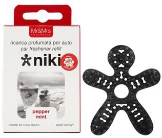 Mr & Mrs Fragrance Niki Car Air Freshener Refill 1pc Pepper Mint