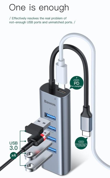 Baseus CAHUB-Q0G USB Hub