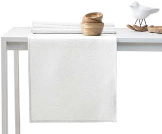 AmeliaHome Gaia AH/HMD Tablecloth White 30x80cm