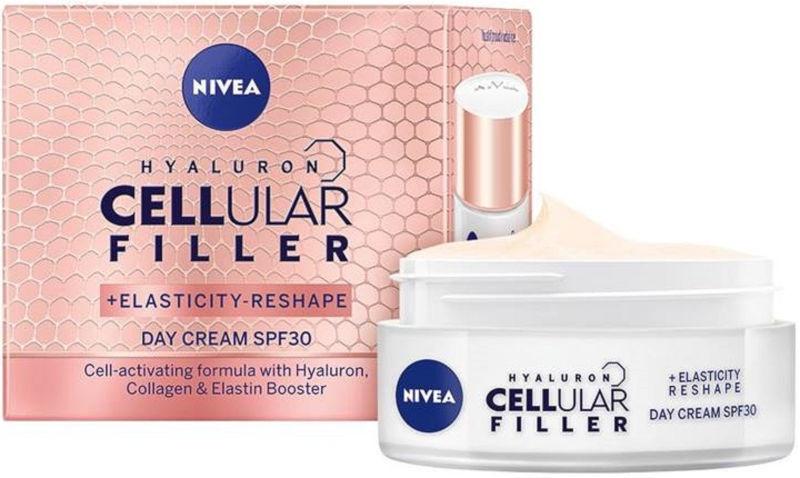 Sejas krēms Nivea Cellular Filler Day Cream SPF30, 50 ml