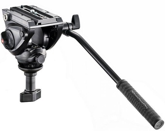 Manfrotto 500 Fluid Video Head With 60mm Half Ball