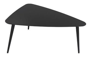 Kafijas galdiņš Black Red White Triango L Black, 1100x850x500 mm