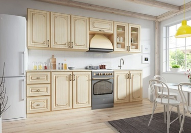 WIPMEB Febe Kitchen Set 260cm Cream