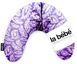La Bebe Mimi Nursing Cotton Pillow Floral Violet 41109