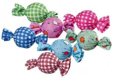 Rotaļlieta kaķim Trixie 4088 Assortment Rattle Candys, 48 gab.
