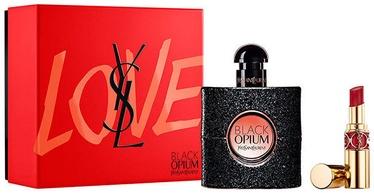 Подарочный набор для женщин Yves Saint Laurent Black Opium 2pcs Set 53ml EDP