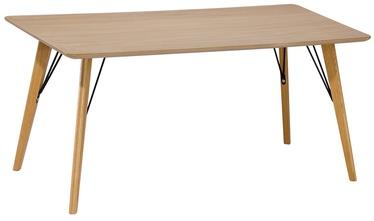 Kafijas galdiņš Home4you Helena Brown, 1100x600x450 mm