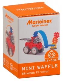 Marioinex Mini Waffle Fireman Small Set 38pcs 902516