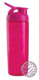 Dzeramā ūdens pudele BlenderBottle SportMixer Geo Lace, rozā, 0.82 l