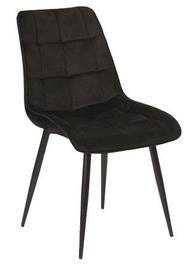 Стул для столовой Signal Meble Chic Velvet Black, 1 шт.