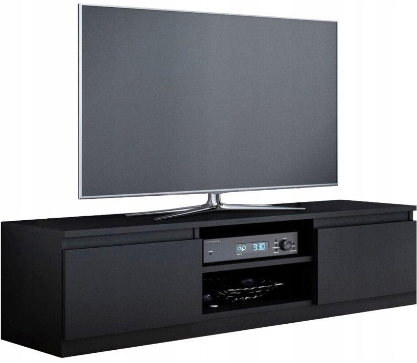 ТВ стол Top E Shop 140, черный, 1000x400x360 мм
