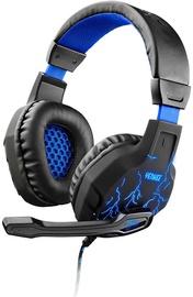 Spēļu austiņas Yenkee YHP 3020 Ambush Black/Blue