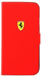 Ferrari Exclusive Leather Book Flip Case Samsung S4 Red