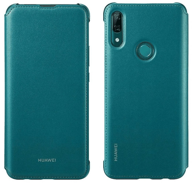 Huawei Protective Flip Cover For Huawei P Smart Z Green