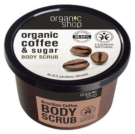 Organic Shop Body Scrub 250ml Brazilian Coffee
