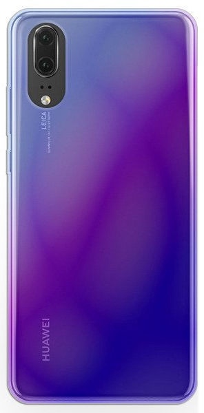 Mocco Blue Ray Back Case For Huawei Mate 20 Pro Transparent/Blue