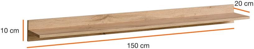 ASM PW Thin Shelf Wotan Oak