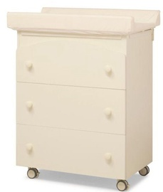 Erbesi Sonia Changing Table Ivory
