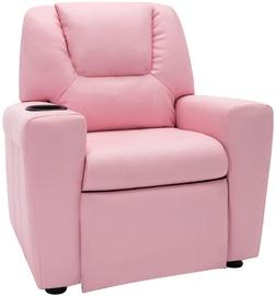 Atzveltnes krēsls VLX Adjustable 324044, rozā, 62 cm x 51 cm x 67 cm