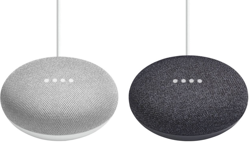 Bezvadu skaļrunis Google Home Mini Chalk