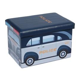 Pufs XYZ160112BE Police, 48 x 31.5 x 32 cm