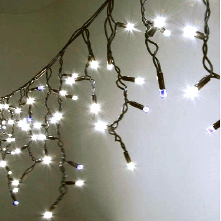 Elektriskā virtene Niveda Outdoor LED 180 Warm White/White Flash, 9 m