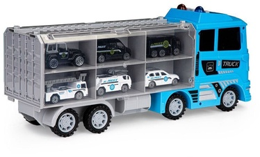 EcoToys Power Truck Police Multi Functional Transportation Equipment