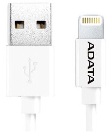 Adata Sync Charge Lightning Cable for iPhone/iPad/iPod 1m White
