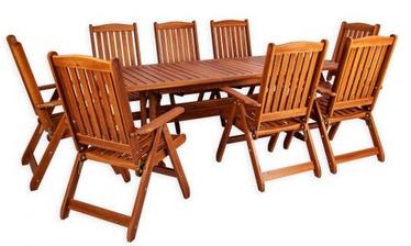 Комплект уличной мебели Folkland Timber Bavaria 8 Brown