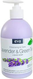 Жидкое мыло Eva Natura Hypoallergenic Lavender & Green Tea, 500 мл