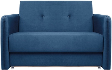 Dīvāngulta Black Red White Loma Blue, 129 x 106 x 84 cm
