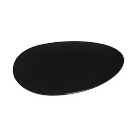 Šķīvis Secret de Gourmet Galet black, melna